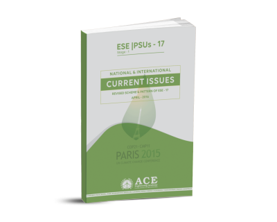ESE-PSUs NATIONAL INTERNATIONAL CURRENT ISSUES