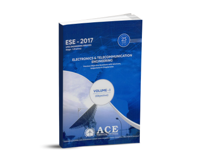 ESE-2017 Electronics Tele Communication Volume-I