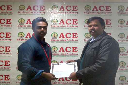 Saurabh Pratap Singh IES 2015 EC 2