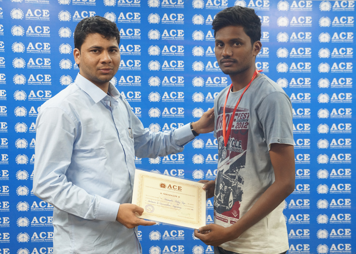 20th rank EC S Raju GATE-2017