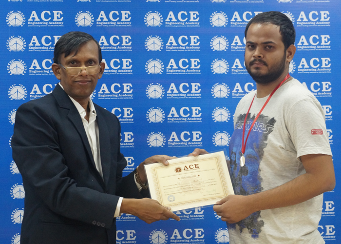 GATE-2017 EE All India 73rd Ranker