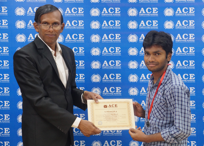 BOJJA HARANATH IES-17-58TH RANK EE