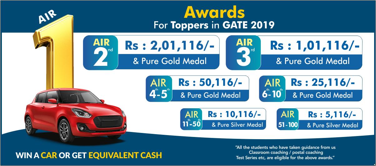 GATE-2019 Award